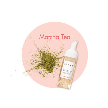 Matcha tea energises in this cleanser