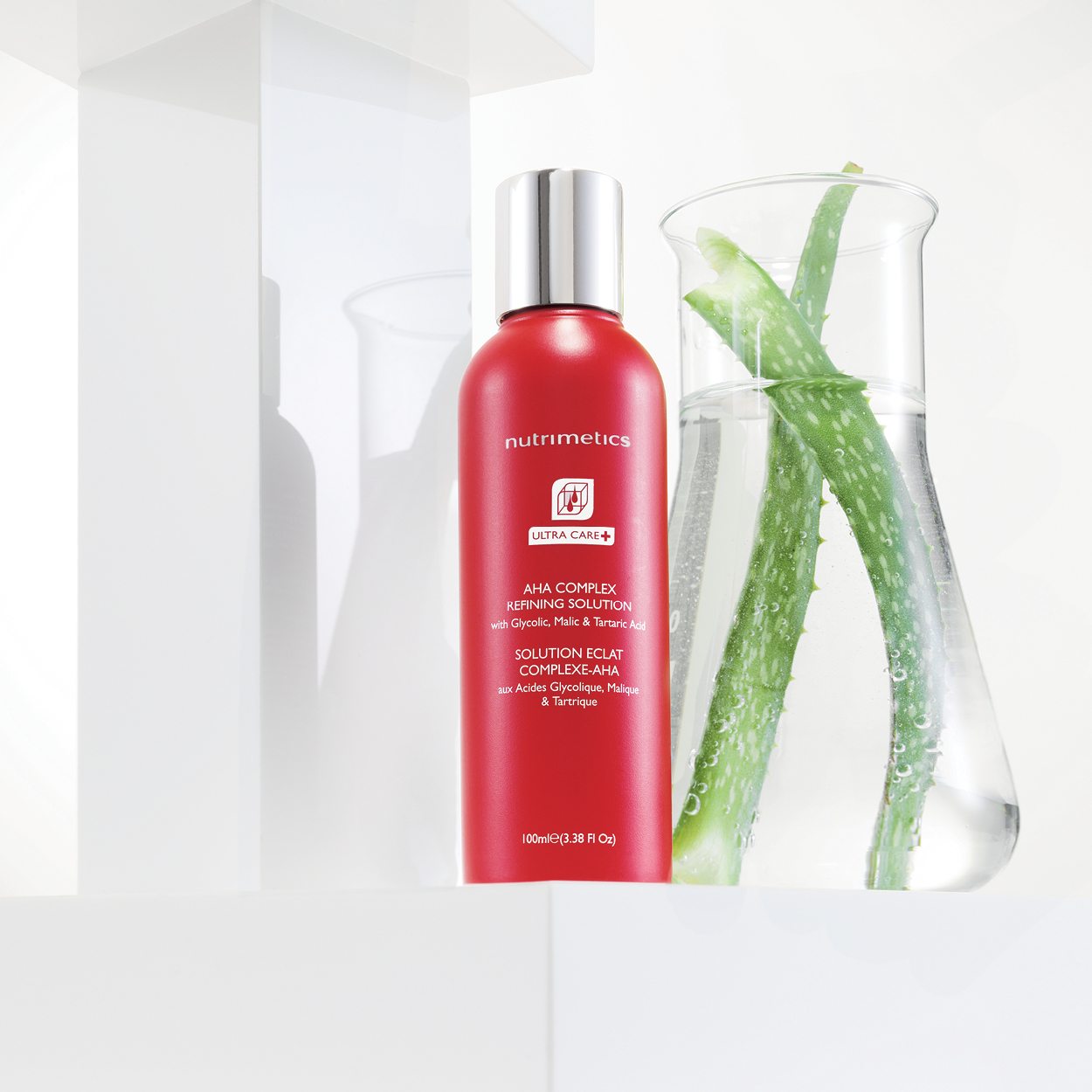 Ultra Care+ AHA Complex Refining Solution